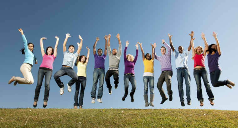Look Up! Leap Forward! Lift Others!